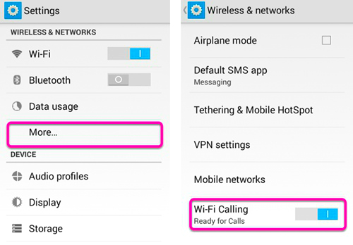 enable-wifi-calls-android