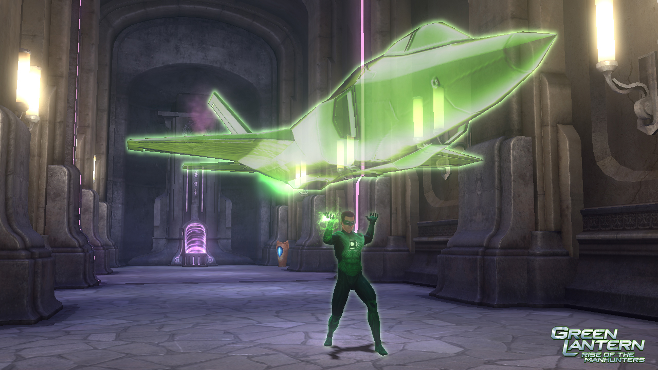 green lantern making aircraft