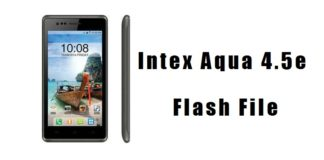 intex aqua 4.5e flash file