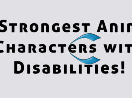 anime characters with disabilities