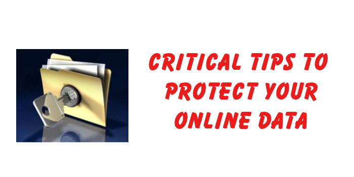 tips to protect your online data
